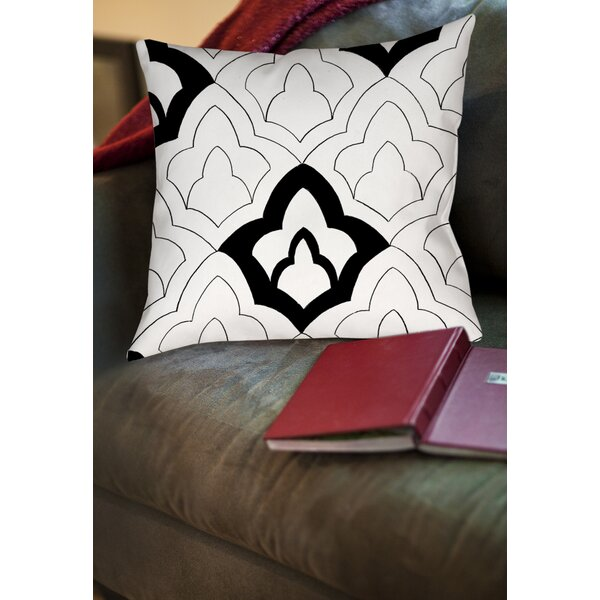 Divisible 1 Printed Throw Pillow by Manual Woodworkers & Weavers