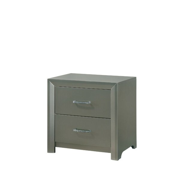 Artis 2 Drawer Nightstand by House of Hampton
