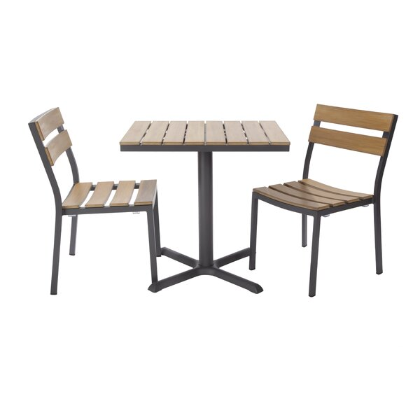 Asher 3 Piece Bistro Set by Madbury Road