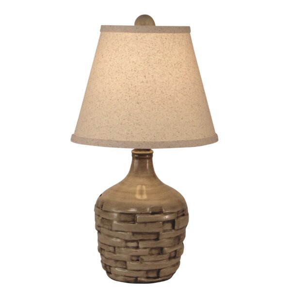 Branford Short Thatched 18 Table Lamp by Bay Isle Home