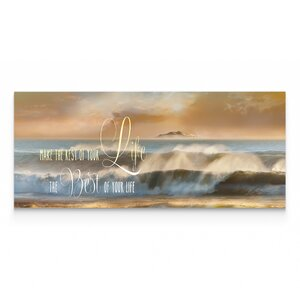 'Best of Your Life' Oil Painting Print on Wrapped Canvas by Highland Dunes