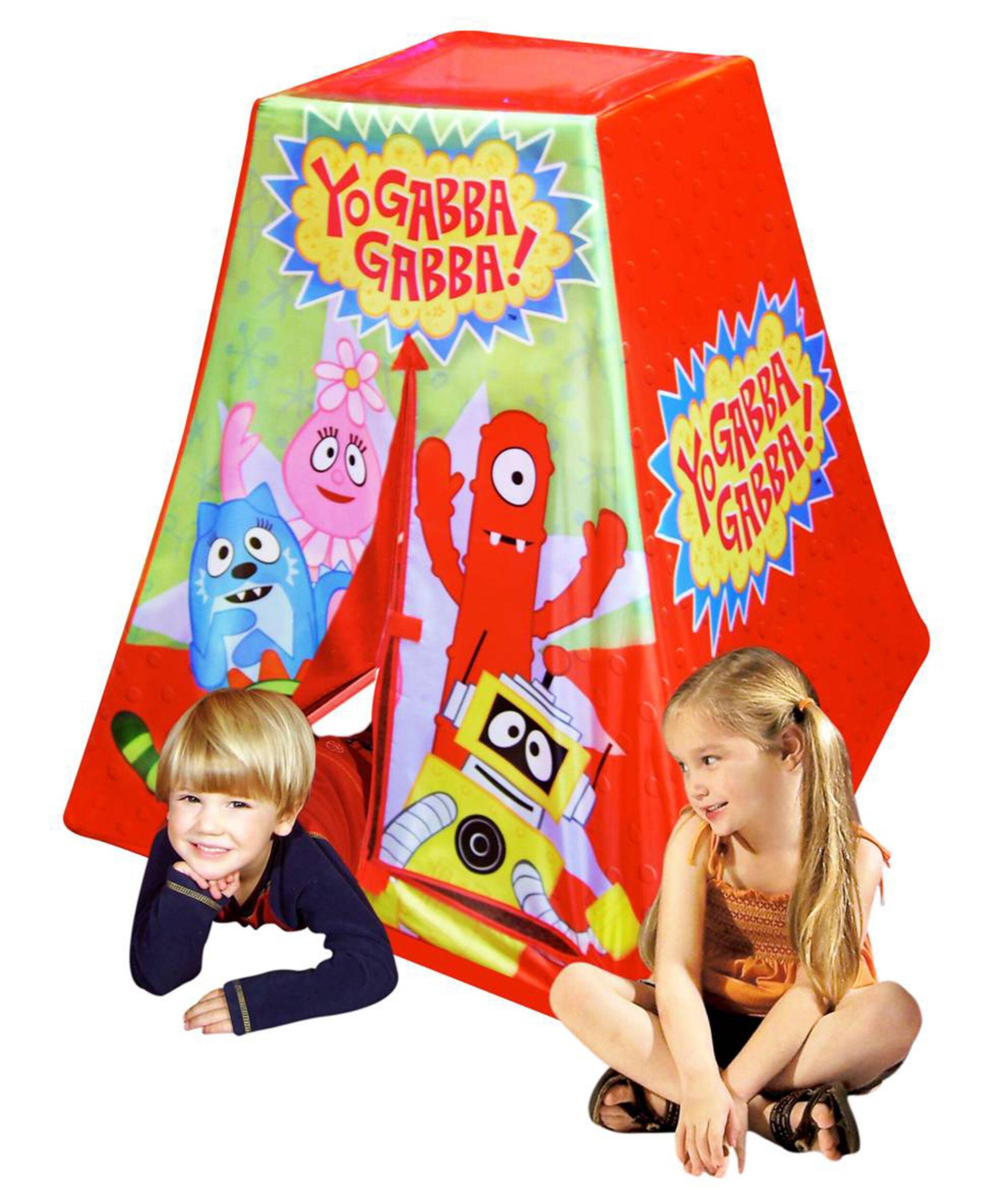 Kid/'s Adventure Nickelodeon Yo Gabba Gabba Play Tent