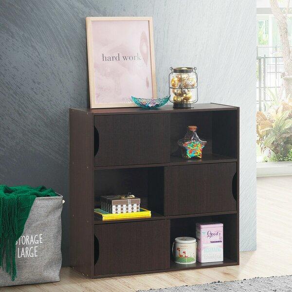 Collegeville 3-Tier Storage Shelf Organizer Display Unit Standard Bookcase By Ebern Designs