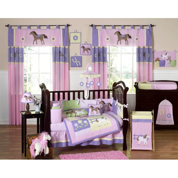 Pony 9 Piece Crib Bedding Set by Sweet Jojo Designs