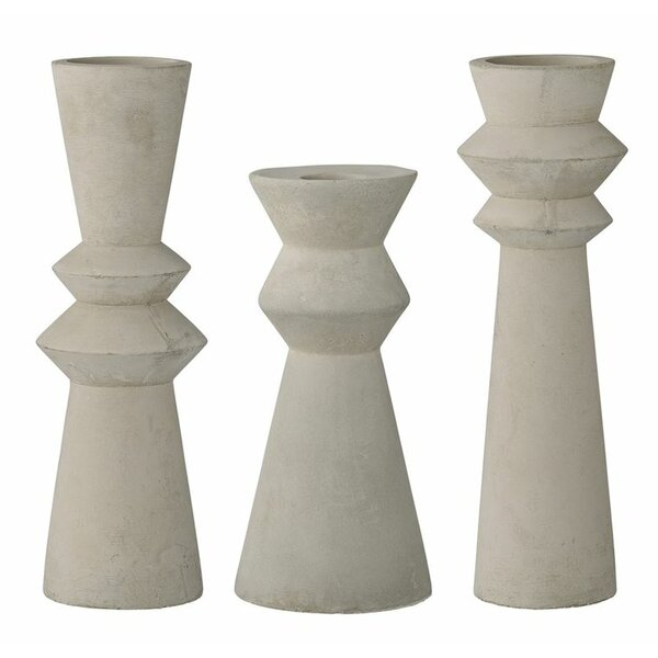 Marxim 3 Piece Candlestick Set by Langley Street