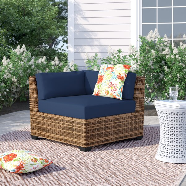 Waterbury Corner Patio Chair with Cushions by Sol 72 Outdoor