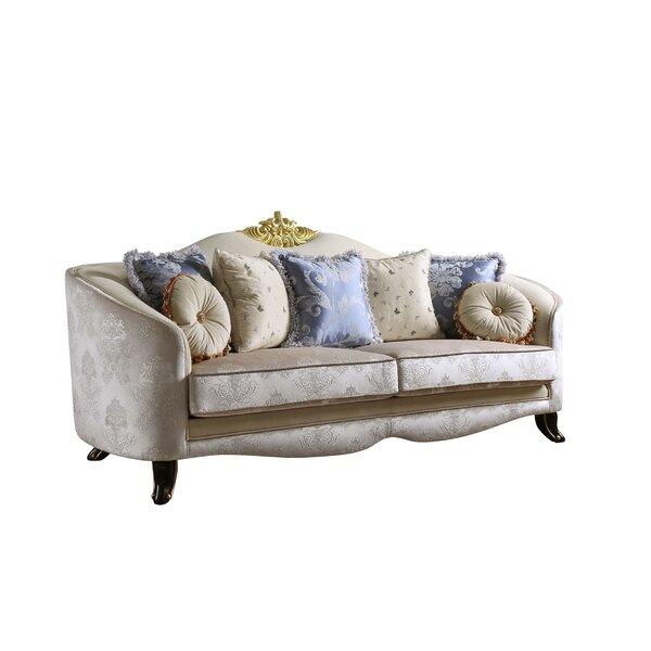 Review Quane Sofa W/7 Pillows