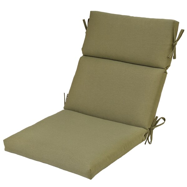 High Back Indoor/Outdoor Dining Chair Cushion by Winston Porter