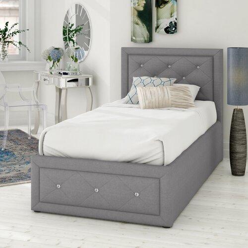 Anatase Crystal Upholstered Ottoman Bed Fairmont Park Size Kingsize 5