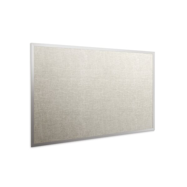 WTS Trim Standard Wall Mounted Bulletin Board by Platinum Visual Systems