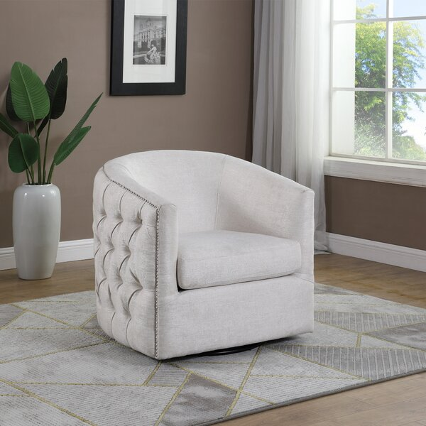 Bramblett Swivel Club Chair by Darby Home Co