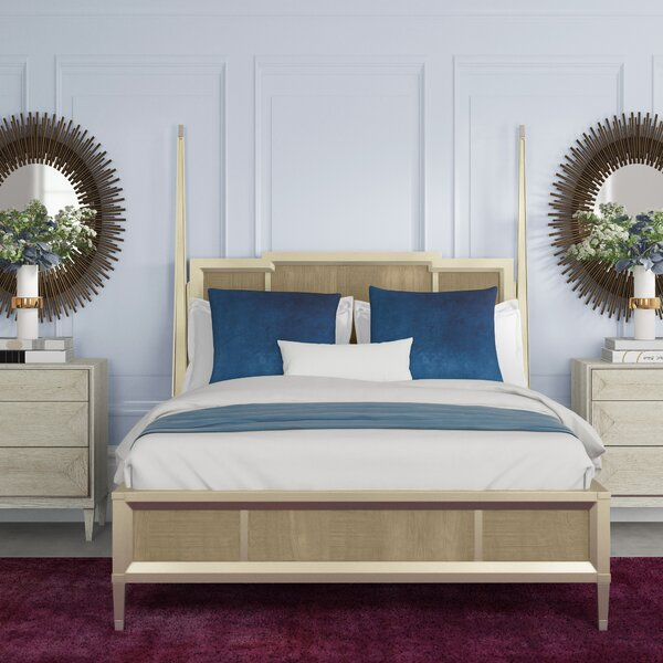 Leaf Two Poster Bed by Caracole Classic