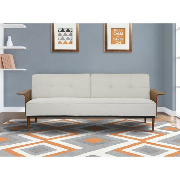 Barbee Convertible Sofa by Mercury Row