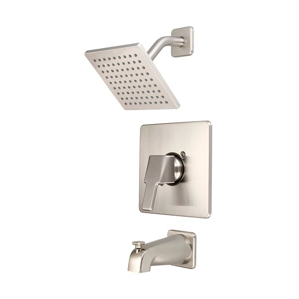 Single Handle Tub and Shower Faucet Trim with Diverter by Olympia Faucets
