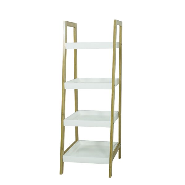 4 Tier Bamboo Standard Bookcase by Disney