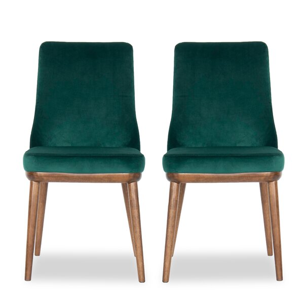 Herschel Upholstered Parsons Chair (Set Of 2) By George Oliver