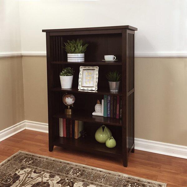 Gaudreau 4-Shelf Standard Bookcase By Red Barrel Studio
