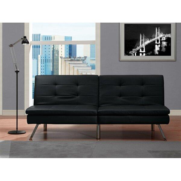 Johnathan Convertible Sofa by Wade Logan