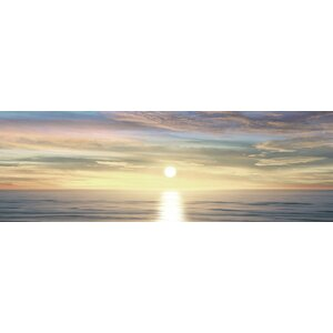 'Sunlit Horizon III' Photographic Print on Canvas by East Urban Home