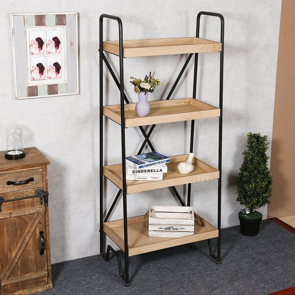 Carnbrock Etagere Bookcase by Gracie Oaks