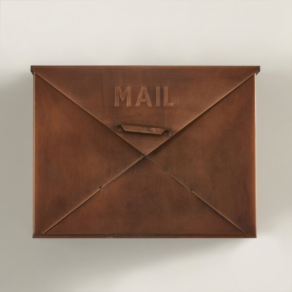 Hinton Wall Mounted Mailbox by Darby Home Co