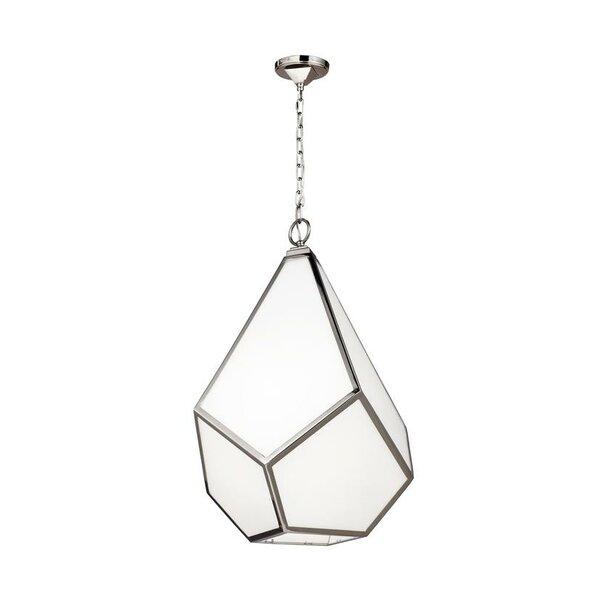 Bellino 1-Light Geometric Pendant by Brayden Studio