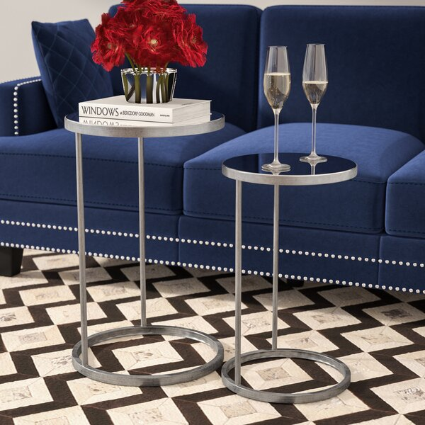 Rumsey 2 Piece End Table Set by Willa Arlo Interiors