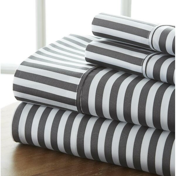 Fiala Premium Ribbon Bed Sheet Set by Wrought Studio