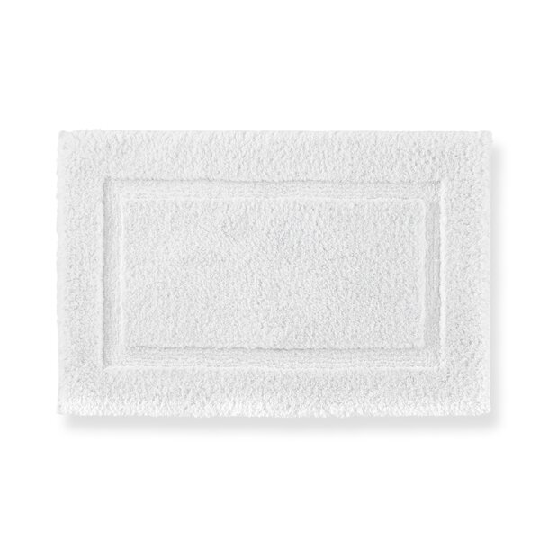 Tiffany Cloud Rectangle 100% Cotton Bath Rug
