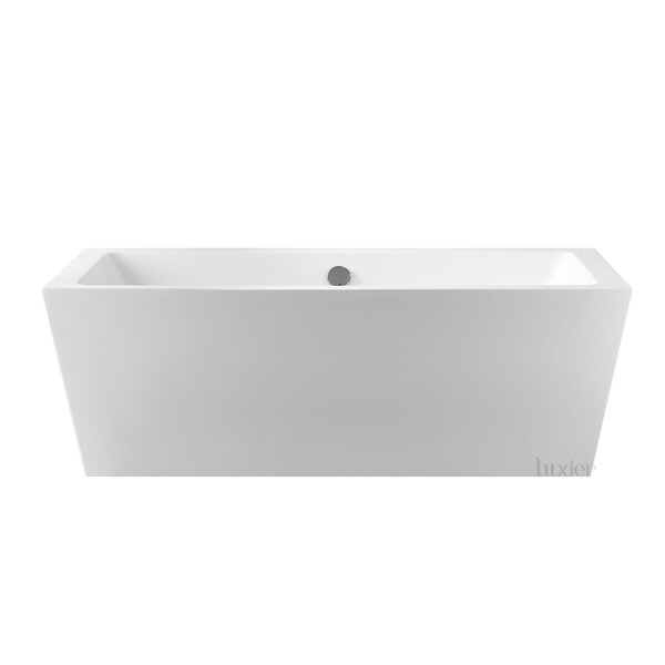 Luxury 67 x 32 Freestanding Soaking Bathtub by Luxier