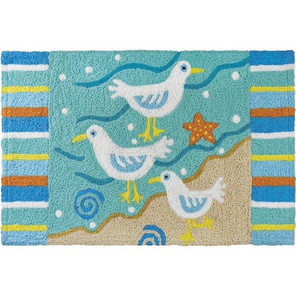 Sassy Seagulls Kitchen Mat