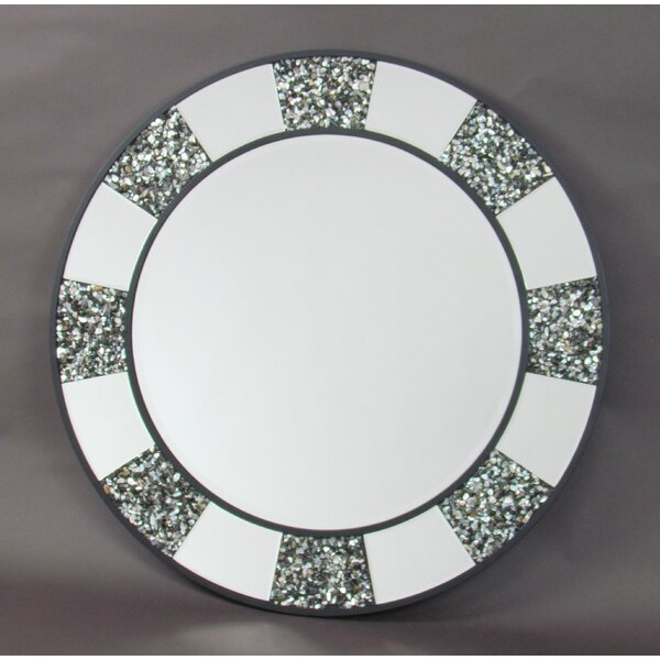 Nantwich Shell Accent Mirror by Highland Dunes