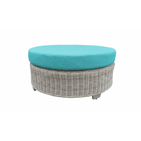 Claire Ottoman with Cushion by Rosecliff Heights