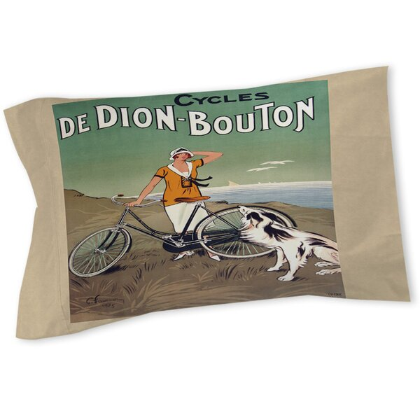Cycles De Doin Bouton Sham by Manual Woodworkers & Weavers