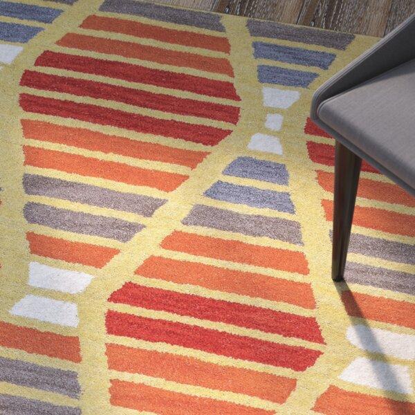 Rigoberto Hand-Tufted Multi Area Rug by Brayden Studio