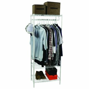 3-Shelf Wire Shelving Garment Rack 24 W By Apollo Hardware