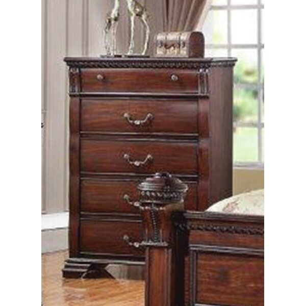 Montana 5 Drawer Chest by Charlton Home