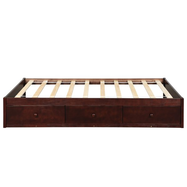 Lozada Twin Platform Bed with Drawers by Harriet Bee