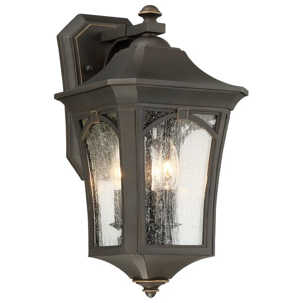 Coyan 3-Light Outdoor Wall Lantern by Darby Home Co