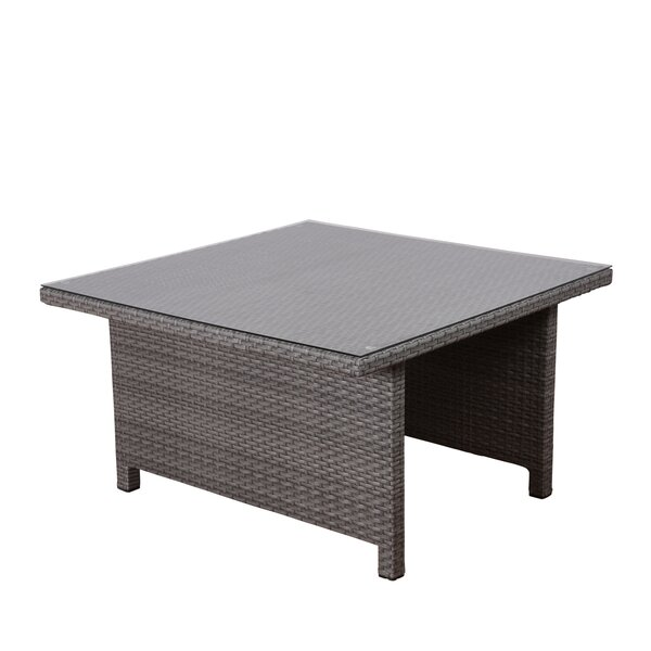 Neo Low Patio Dining Table by Beachcrest Home