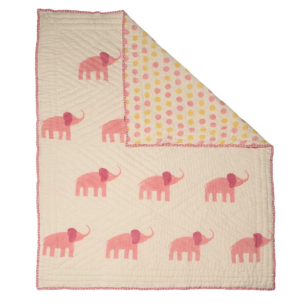 Elephant Quilt by Naaya by Moonlight