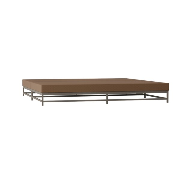 Cabana Club Double Chaise Lounge with Cushion by Tropitone