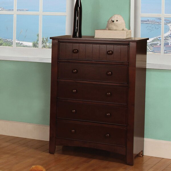 Bedford 5 Drawer Chest by Hokku Designs