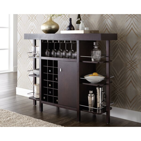 Ghia Drinks Home Bar with Wine Storage by Latitude Run