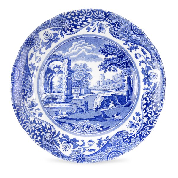 Blue Italian 6.5 Bread and Butter Plate (Set of 4) by Spode