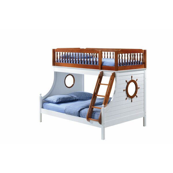 Carita Sailor Design Twin over Full Bunk Bed by Harriet Bee