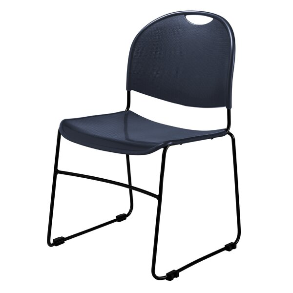 Armless Commercialine Ultra Compact Stacking Chair (Set of 4) by National Public Seating