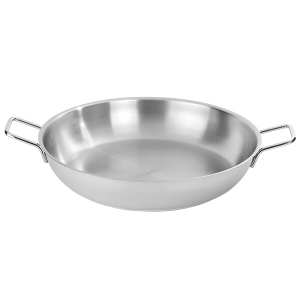 Resto 14.8-qt Stainless Steel Paella Pan by Demeyere