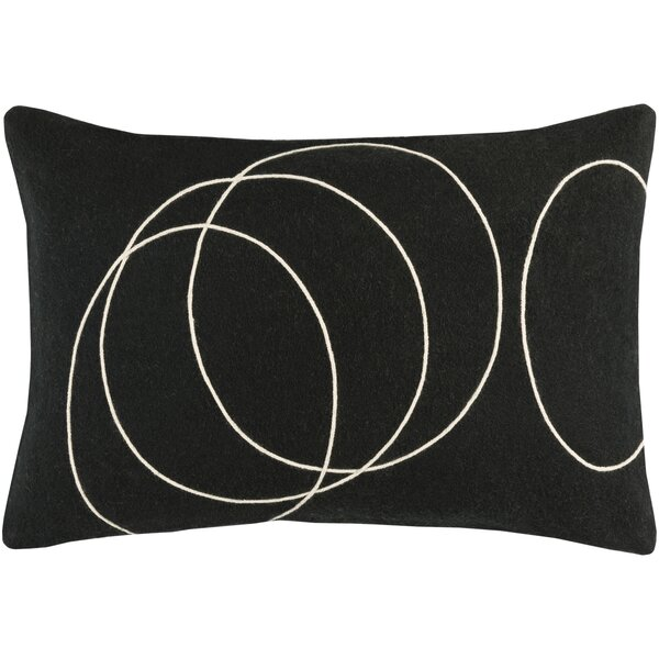 Bold Wool Lumbar Pillow by Bobby Berk Home