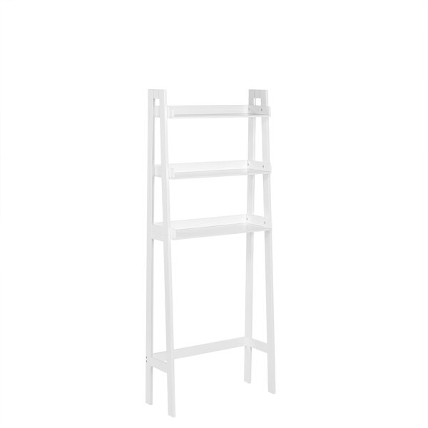 Ilovici Ladder Spacesaver 25 W x 62 H Over the Toilet Storage by Ebern Designs